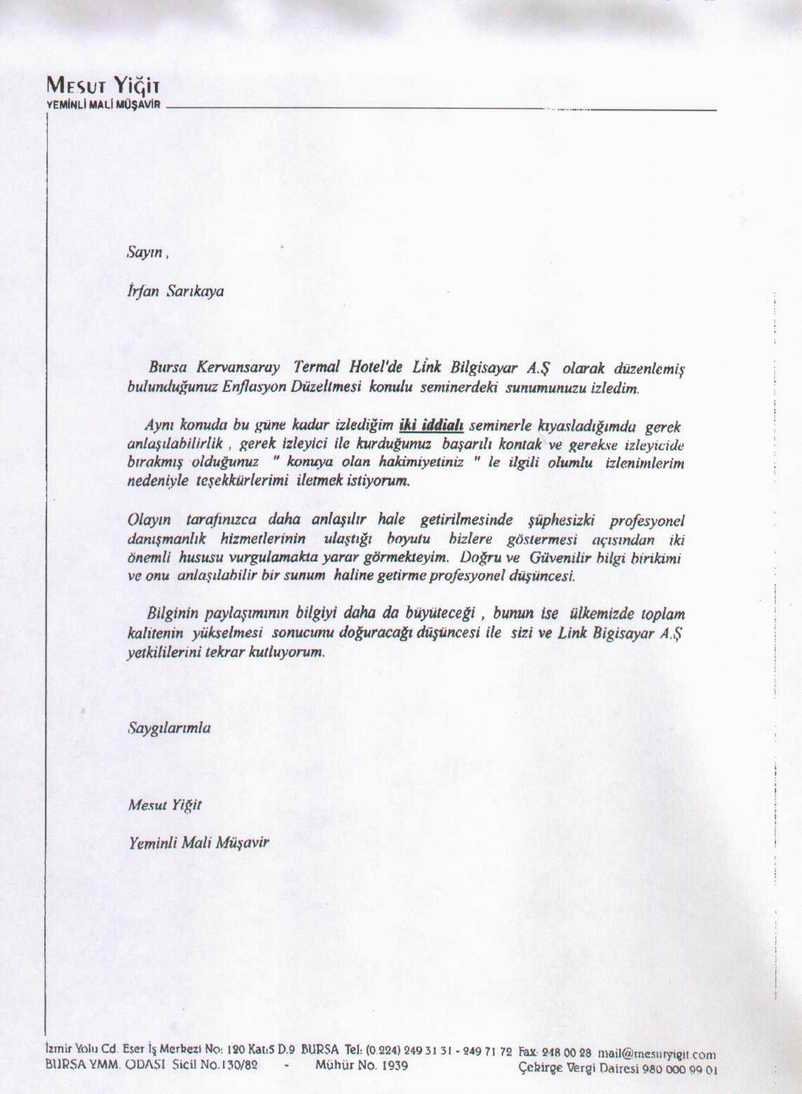 referans letter